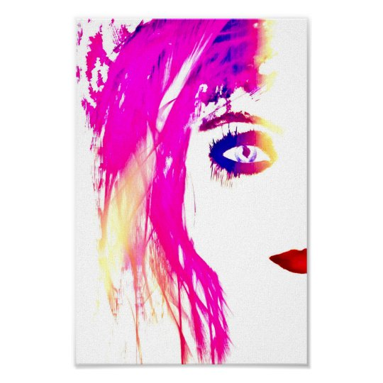 Feeling pink Poster