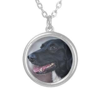 Feist Labrador Silverpläterat Halsband