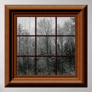 Fejka istappar för träd för platsen för snö för