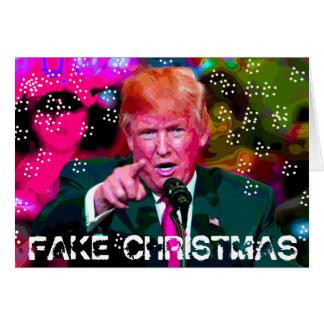 Fejka jul, Donald Trump satirjulkort Hälsningskort