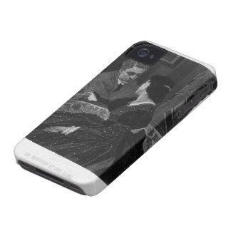 Felicien Rops En gentleman och en dam iPhone 4 Fodraler