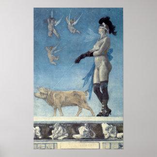 Felicien Rops - Pornocrates Poster
