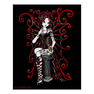 Felik affisch Sasha för röd Couture