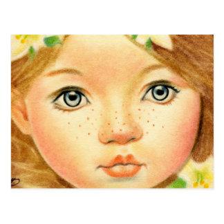 Felik blommavykort för påsk vykort