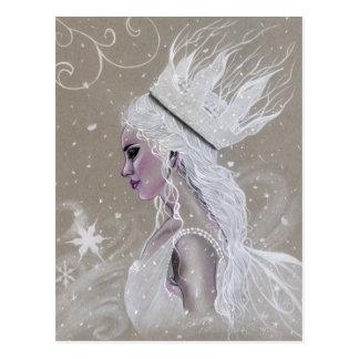 Felik drottningvykort för vinter vykort
