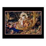 """Felik målning """"Oberon och Titania """", Vykort"""