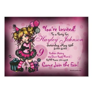 Felik Princess Anpassningsbar Inbjudan för