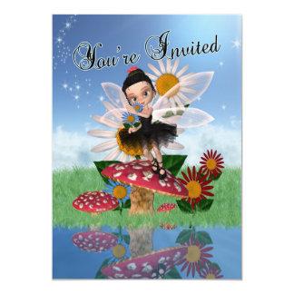 Felik Princess födelsedagsfest - felik 12,7 X 17,8 Cm Inbjudningskort