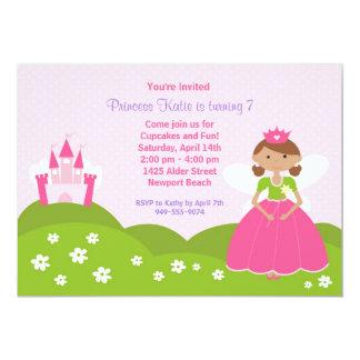 Felik Princess födelsedagsfest inbjudan