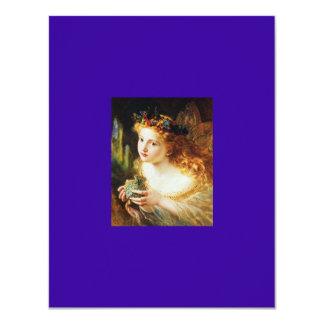 Felikt Princessparty 10,8 X 14 Cm Inbjudningskort