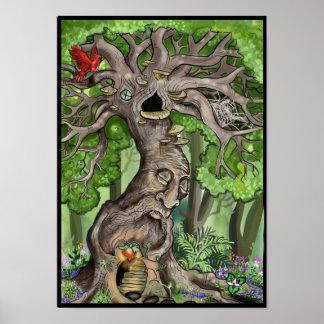 Felikt trädhem poster