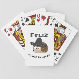 Feliz Cinco De Mayo igelkott Spel Kort