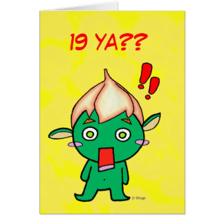 Feliz cumpleaños! hälsningskort