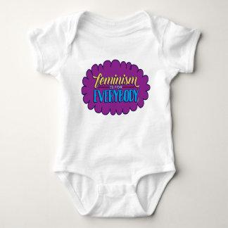 Feminism är för alla barnkläder tee shirt