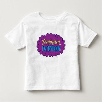 Feminism är för alla småbarnutslagsplatsen tröjor
