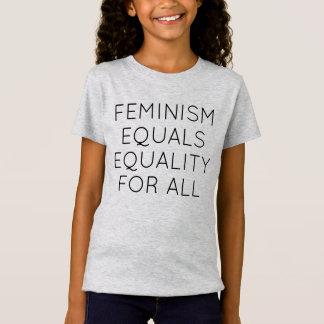 Feminism likställer jämställdhet för alla tröja
