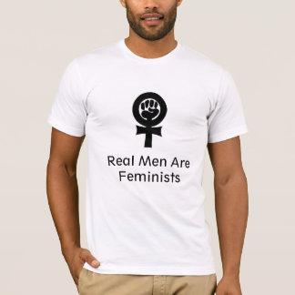 feminism verklig manar är feminister tee shirts