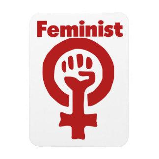 Feminist Vinyl Magnet