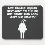 Feministisk humor musmatta