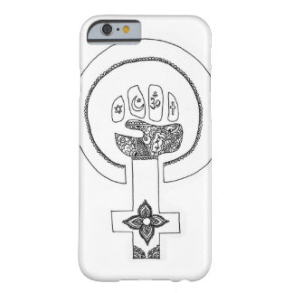 Feministisk iPhonease Barely There iPhone 6 Fodral