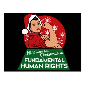 Feministisk jul vykort