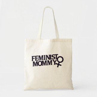 Feministiska mammor tygkasse