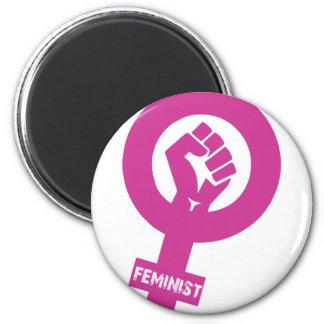 Feministiskt genderrättighetersymbol magnet