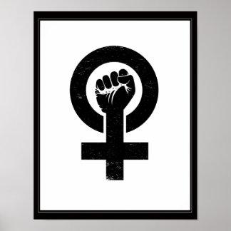 Feministiskt motstånd poster