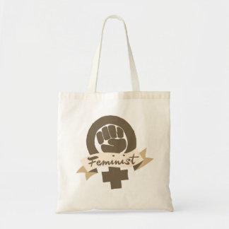 Feministiskt symbol budget tygkasse