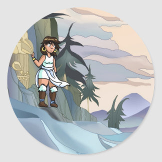 Femme Schism (Loto i det Veruki territoriet) Runt Klistermärke