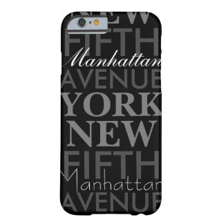 Femte aveny New York Barely There iPhone 6 Fodral
