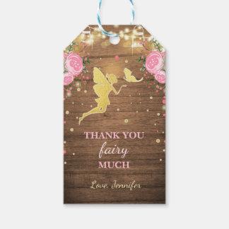 Fen tackar dig märker Magical födelsedag för Pack Av Presentetiketter