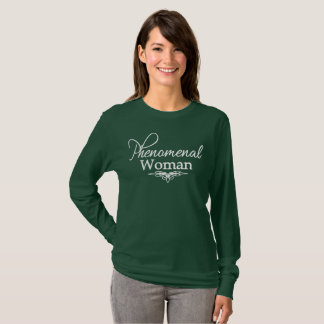 Fenomenal kvinnamors dag/någon dagskjorta t-shirt