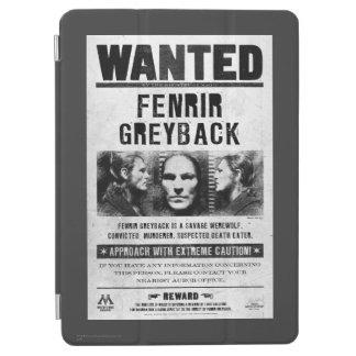 Fenrir Greyback önskad affisch iPad Air Skydd
