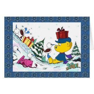 Ferald | jul hälsningskort
