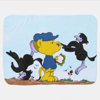 Ferald och de Pesky kråkorna Bebisfilt