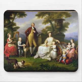Ferdinand droppkung av Naples och hans familj Musmatta