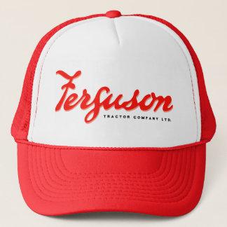 Ferguson Fergie traktorvintage som fotvandrar Keps
