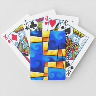 Fergussos V1 - digital abstrakt Spelkort