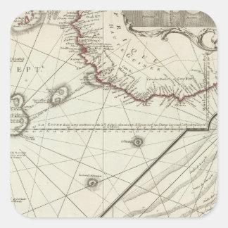 Fernand de Noronha Ö Fyrkantigt Klistermärke