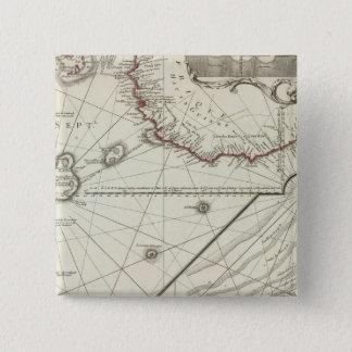 Fernand de Noronha Ö Standard Kanpp Fyrkantig 5.1 Cm
