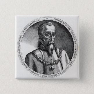 Fernando Alvarez de Toledo, 3rd hertig av Alba 2 Standard Kanpp Fyrkantig 5.1 Cm