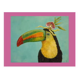 Fernando den toucan vykortet vykort