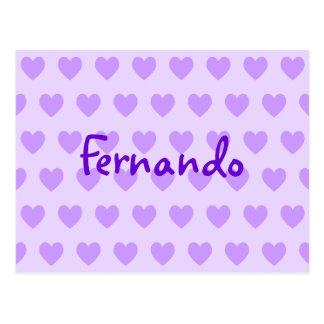 Fernando i lilor vykort