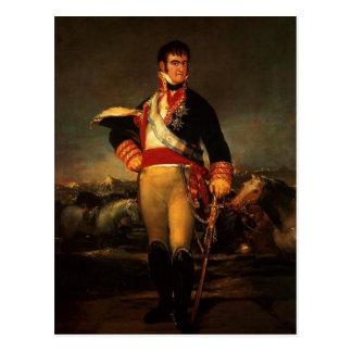 Fernando VII av Spanien, vid Francisco de Goya, Vykort