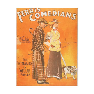 """Ferris komiker """"Pacemakers på populärt prissätter  Canvastryck"""