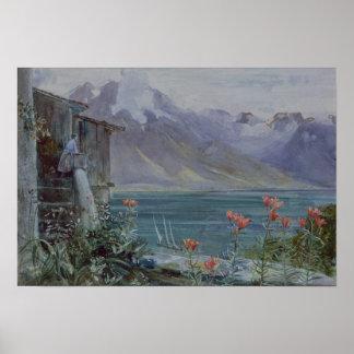 Ferritet sjö Geneva, 1882 Poster