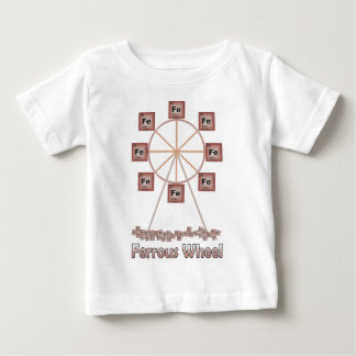 Ferrous rulla järnkemiobjektet tee shirt