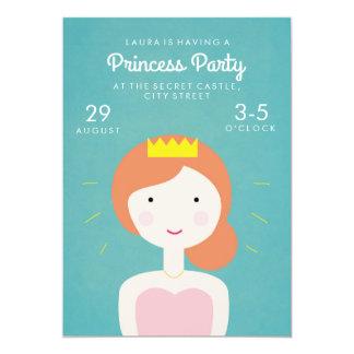 Festa Inbjudan för Princess Festa Barn