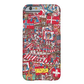 Festa, var är jättelika Waldo Barely There iPhone 6 Fodral